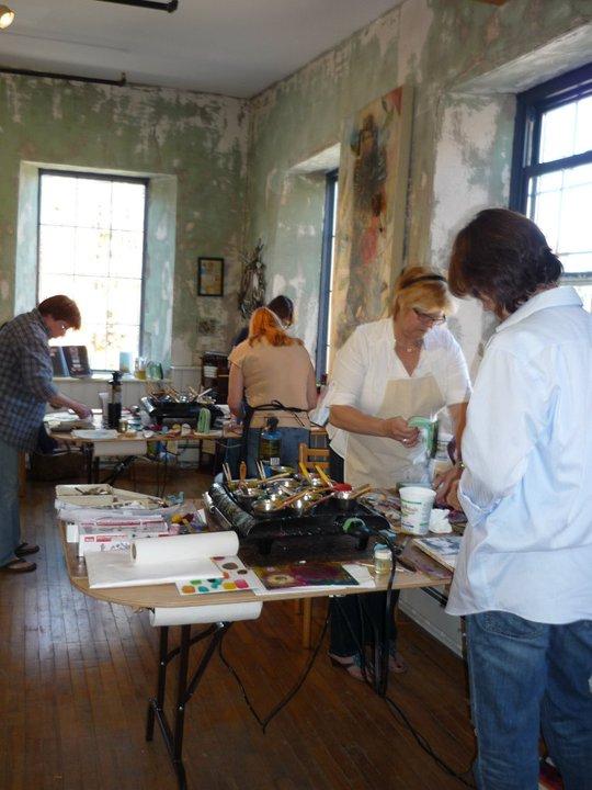 encaustic-studio